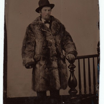 Tenderfoot Tintype Buffalo Coat Wild West Studio Prop collection Jim Linderman - Photographs