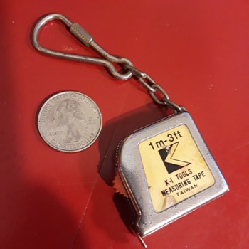 THREE FOOT keychain measuring tape - Tools and Hardware