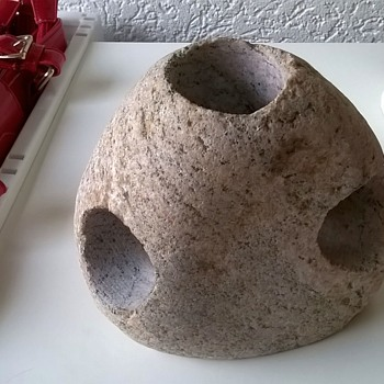 Svane Stone Tealight Holder Sweden Thrift Shop Find $1.00 - Lamps
