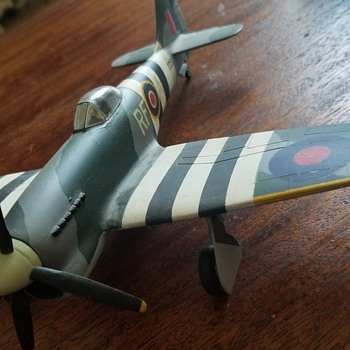 Vintage WW2 built model - Tempest? - Military and Wartime