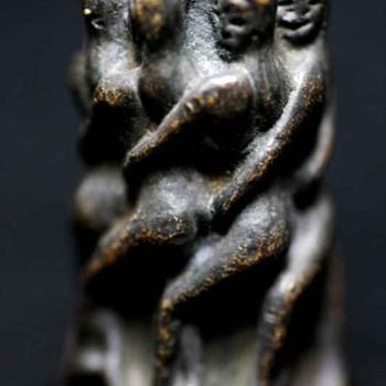 Bronze Fertility Tower Of Virgins Charm Thailand - Asian