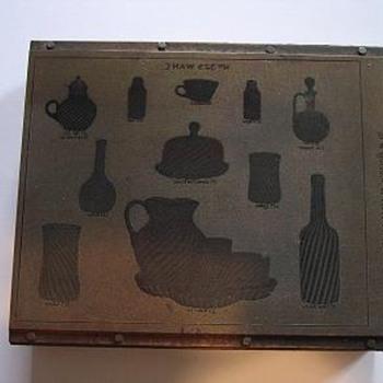 Original Hobbs Catalog Printing Block