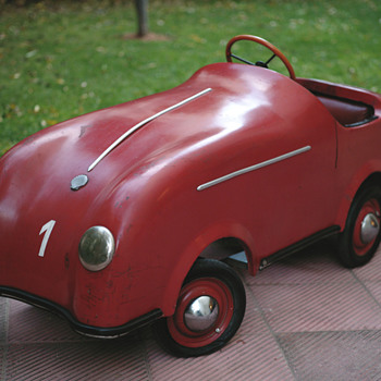 """Porsche speedster"" 1950's Pedal Car - Model Cars"