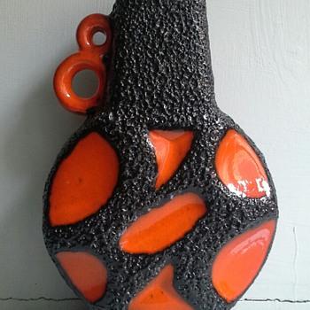 roth keramik vase 313 - Pottery
