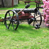 WWII Ships Underwater Mine??? Homemade Cannon on the lawn.