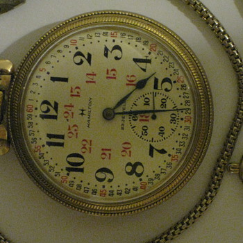 Hamilton 971 Railroad Pocket Watch  - Pocket Watches