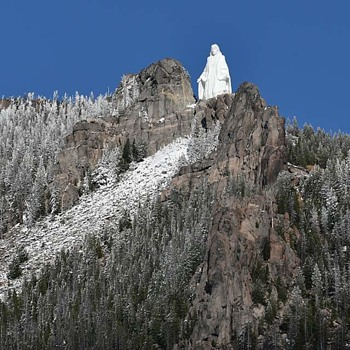 Our Lady of the Rockies Statue - Photographs