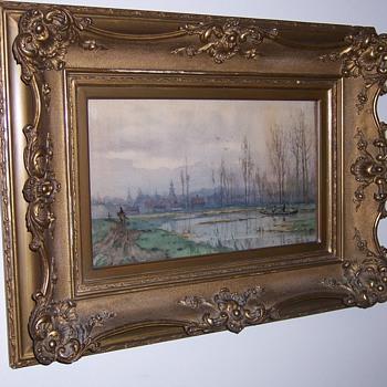 1878 painting, W. C. Rip