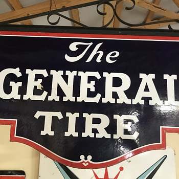 General tire company hanging sign  - Signs
