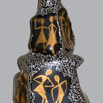 HJB Italy Art Pottery - Artist MARI - Pottery