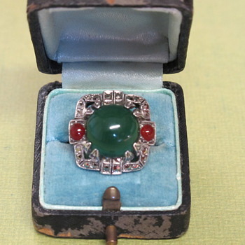 Another Art Deco Ring!  - Fine Jewelry