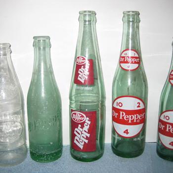 Dr Pepper - Bottles
