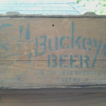 Buckeye Beer Crate Toledo, Ohio - Breweriana