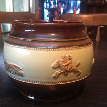 Old ashtray from England. How old?