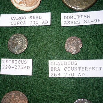 Roman coin collection