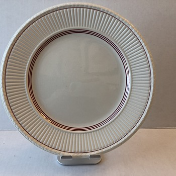 Wedgwood Edme with Red Rim - China and Dinnerware