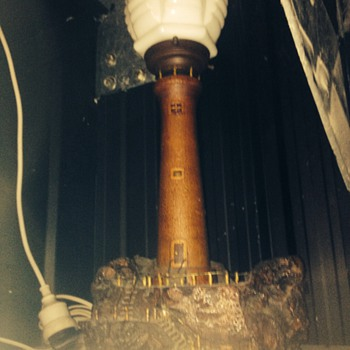 1950's lighthouse lamp - Lamps