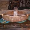 Old Gathering Basket, very large