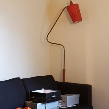 Mid Century Lamp - Lamps