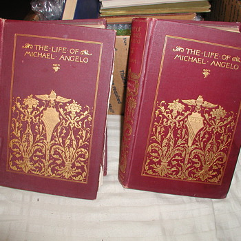 """Is my """"Life of Michael Angelo"""" Vol I & II by Herman Grimm Translated by Fanny Elizabeth Bvnnett a 1st Editions / 1st Printings? - Books"""