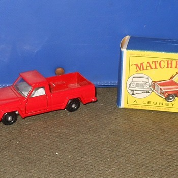 Matchbox Monday MB 71 Jeep Gladiator Pick-UP Truck 1964 - Model Cars