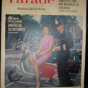 PARADE NEWSPAPER ADS - Paper