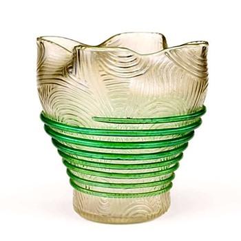 Loetz Spiraloptisch Variant c.1905 - Art Glass