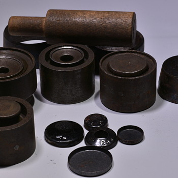 Schott Bros. Button Moulds and Tools  - Sewing