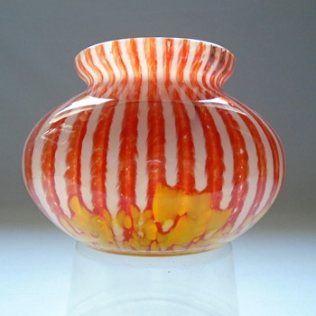 Welz Art Deco Vase  - Art Glass