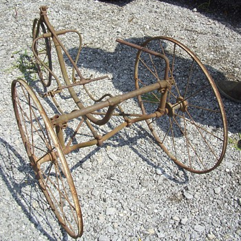 Just a neat old tricycle - Sporting Goods