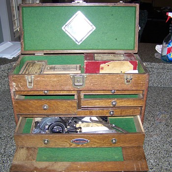Grandpa's toolbox - Tools and Hardware