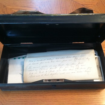 Very Old Letters & A Beautiful Poem - Paper