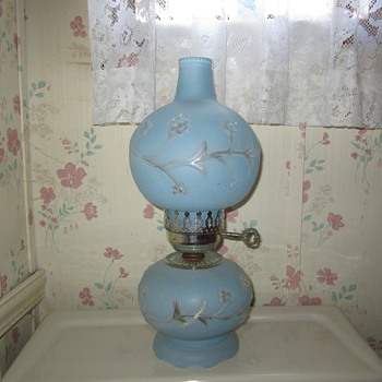 Blue lamp and know nothing about it