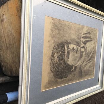 Chalk sketched  - Fine Art