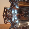 ART NOUVEAU PLATED BREAD BASKET