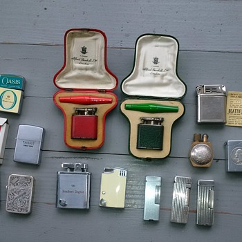 Vintage Cigarette Lighters - Tobacciana
