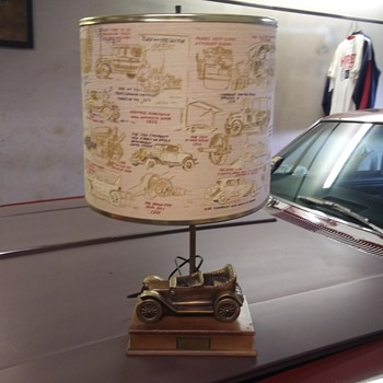 Early 60s Chevrolet dealer lamp - Classic Cars
