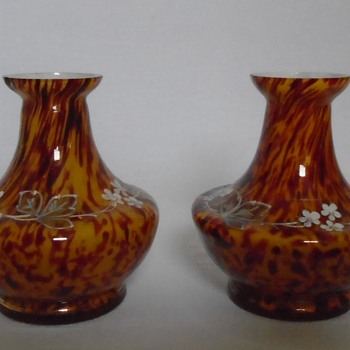 Small Welz Vases - Art Glass