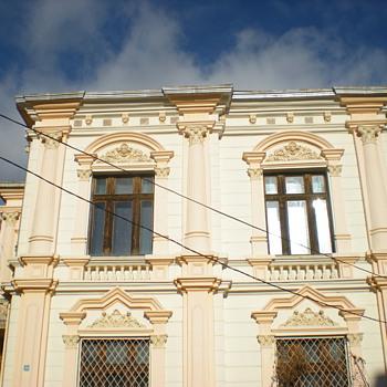 Art Nouveau houses in Vidin, Bulgaria. - Art Nouveau