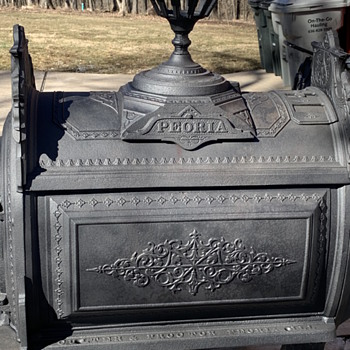 1876 Culter and Proctor cast iron stove  - Kitchen