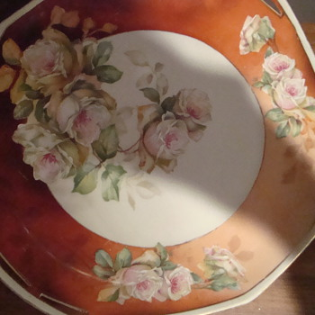 My Great Aunt's plate /Austria M Z - China and Dinnerware