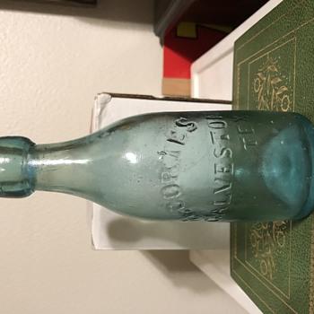 H Cortes Galveston Tex  - Bottles