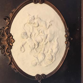 Old Cherub Mirror - Furniture