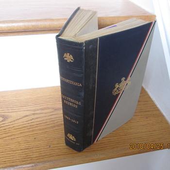 "Book ""Gettysburg Reunion 1863-1913"" 1915 edition - Books"