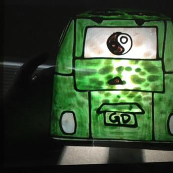 Grateful Dead Glass VW Light
