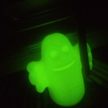 Glow-In-The-Dark Ghost Pencil Holder!  - Advertising