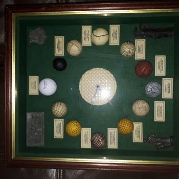 vintage golf balls - Sporting Goods