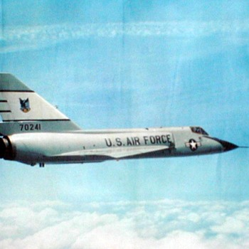 "U.S. Air Force Photo Poster - ""F-106 Delta Dart"" - Posters and Prints"