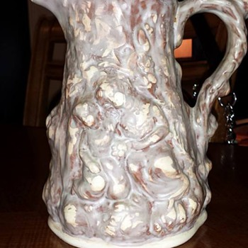 I really love this pitcher....My new favorite piece - Pottery