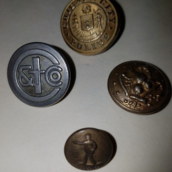 Great Gran Fathers Taylor Shop Buttons - Sewing